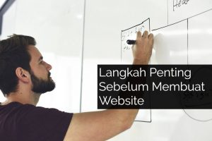 Langkah penting membuat website