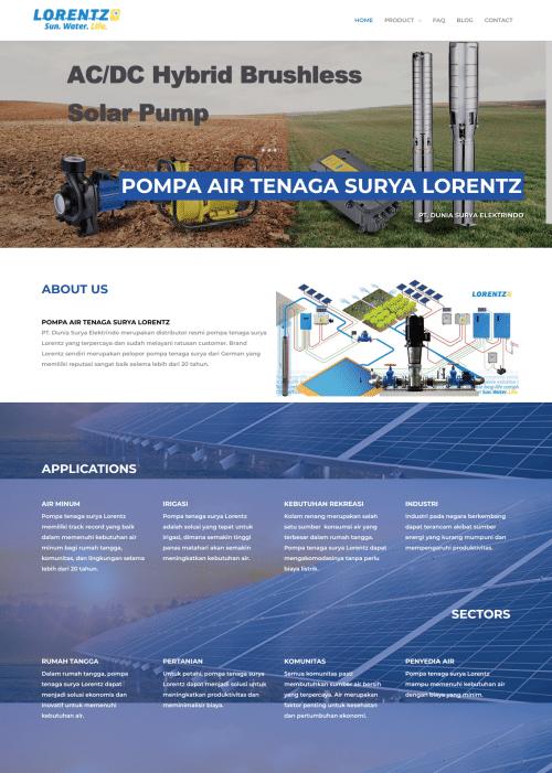 PT Dunia Surya Elektrindo - Solar Pump