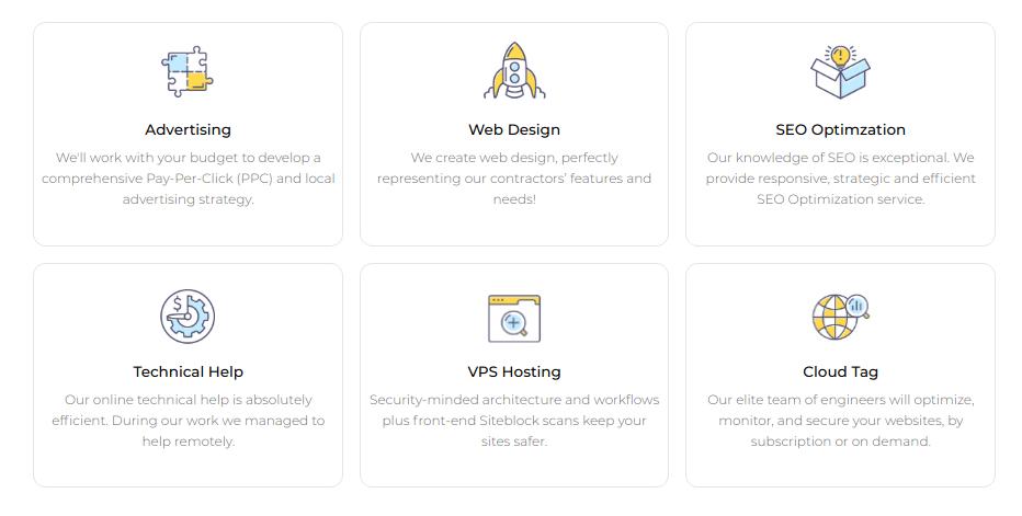 company profile - service / product